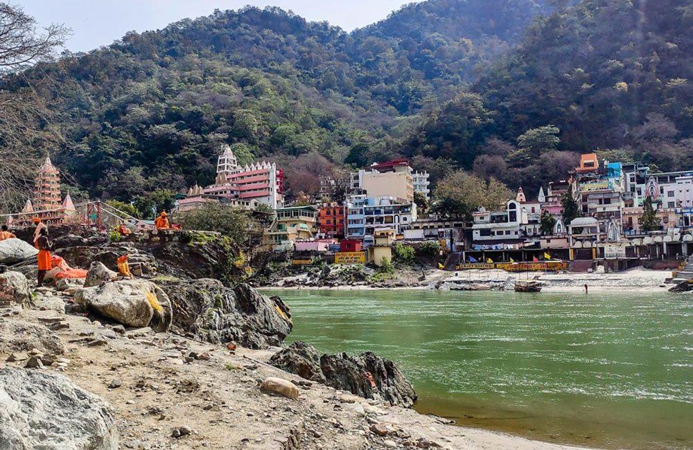 Rishikesh - Vue du Gange